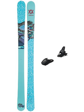Völkl Bash W Junior Flat 74mm 138 + Free 7 95 2021 Ski set