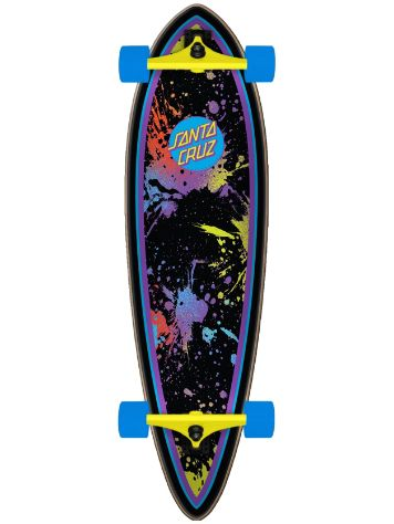 "Santa Cruz Dot Splatter Pintail 9.2"" Complete"