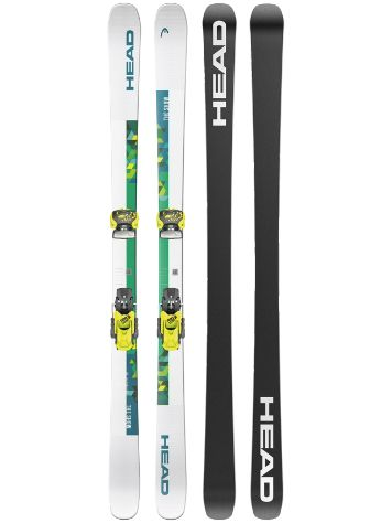 Head The Show 78mm 154 + Attack2 13 GW 2021 Set de Freeski