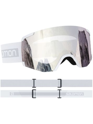 Salomon S/View White Masque