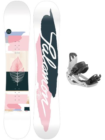 Salomon Lotus LTD 142 + Rhythm S 2021 Snowboard-Set