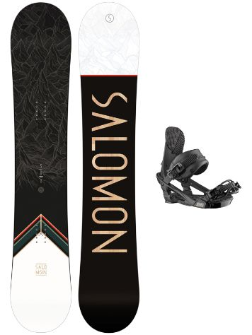 Salomon Sight 158W + Trigger X 2021 Snowboardpaket