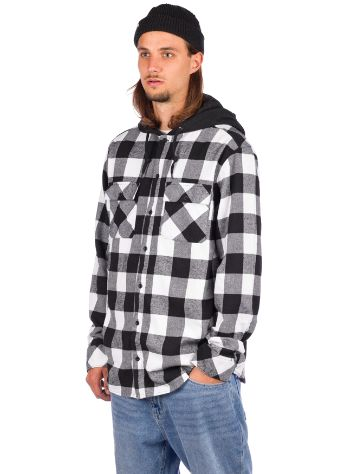 Empyre Prime Hooded Flannel Skjorta