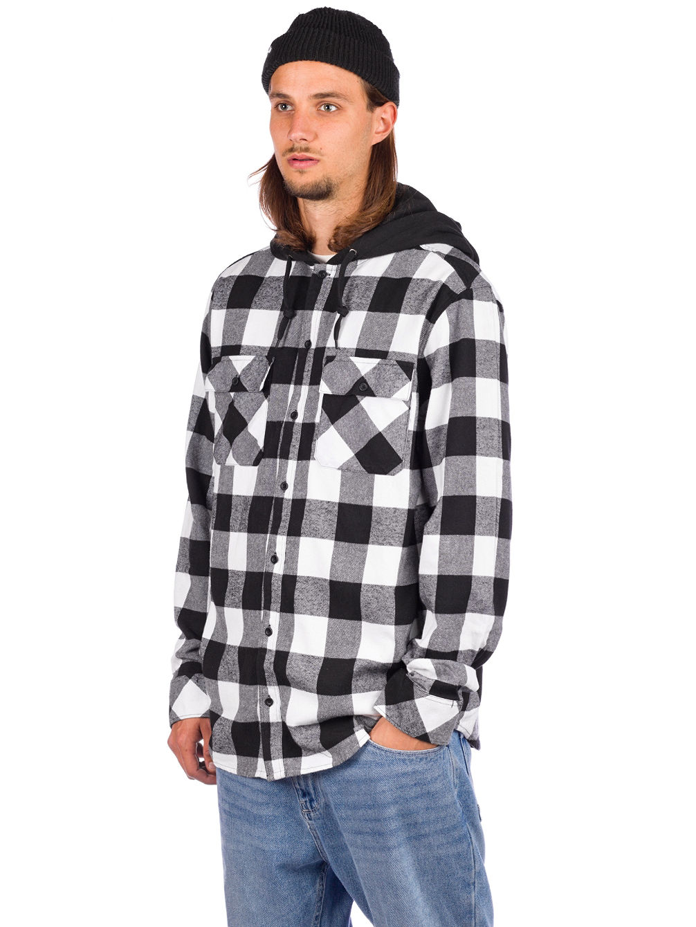 Prime Hooded Flannel Tricko