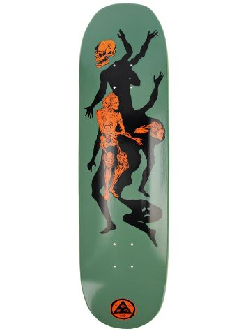 "Welcome The Magician 8.5"" Moontrimmer 2.0 Skateboard Deck"