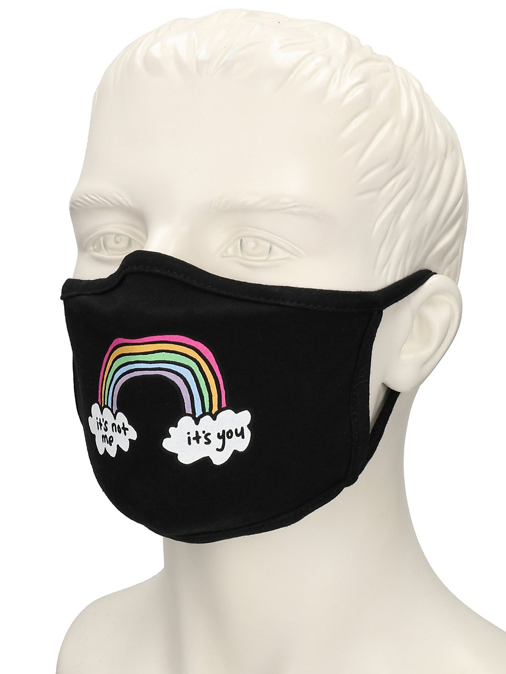 Jac Vanek Rainbow Cloth Mask