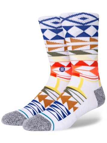 Stance Warrior Print Chaussettes
