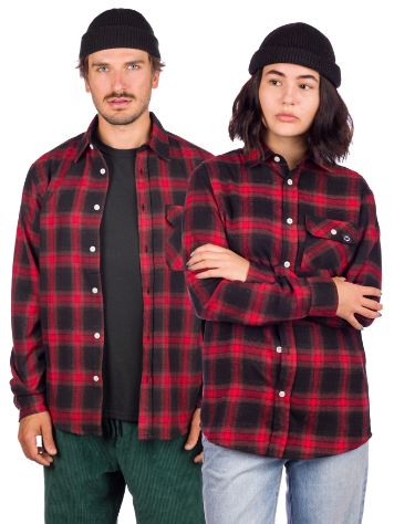 Blue Tomato Plaid Flannel Skjorte