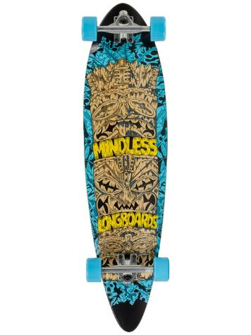 "Mindless Longboards Tribal Rogue IV 9.75"" Longboard Completo"