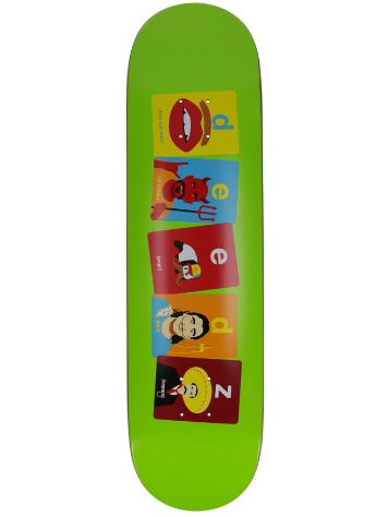 "Enjoi Deedz Flashcards 8.125"" Skateboard Deck"