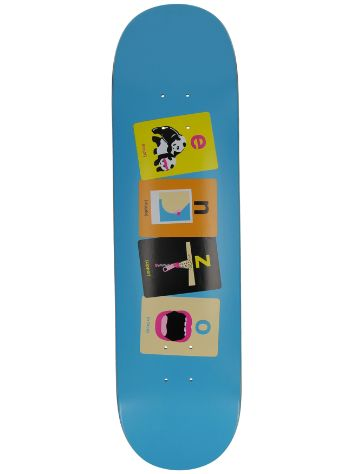 "Enjoi Enzo Flashcards 8.375"" Skateboard Deck"