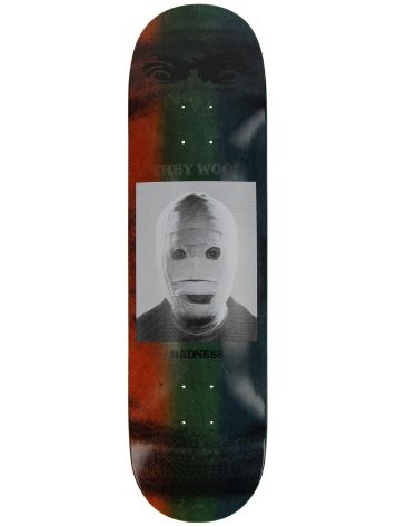 "Madness Skateboards Trey Bandage R7 8.25"" Skateboard Deck"
