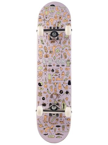 "Eh-Ok Block Party 7.5"" Skateboard Deck"