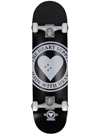 "Heart Supply Badge Logo 8"" Skateboard"