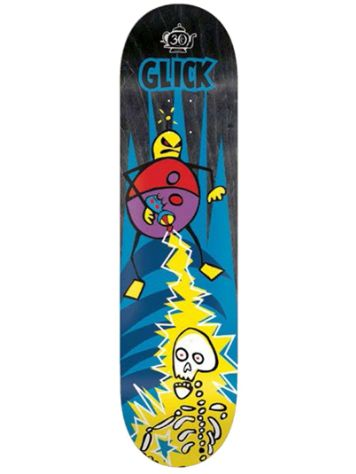 "Foundation Glick Phaser 8.25"" Skateboard Deck"
