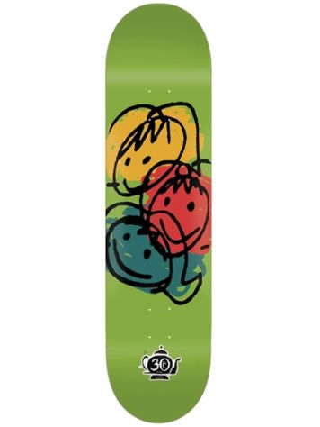 "Foundation Faces 8.25"" Skateboard Deck"