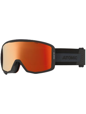 Atomic Count Jr Cylindrical Black Goggle