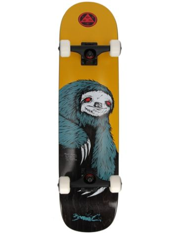 "Welcome Sloth 7.75"" Skate Completo"