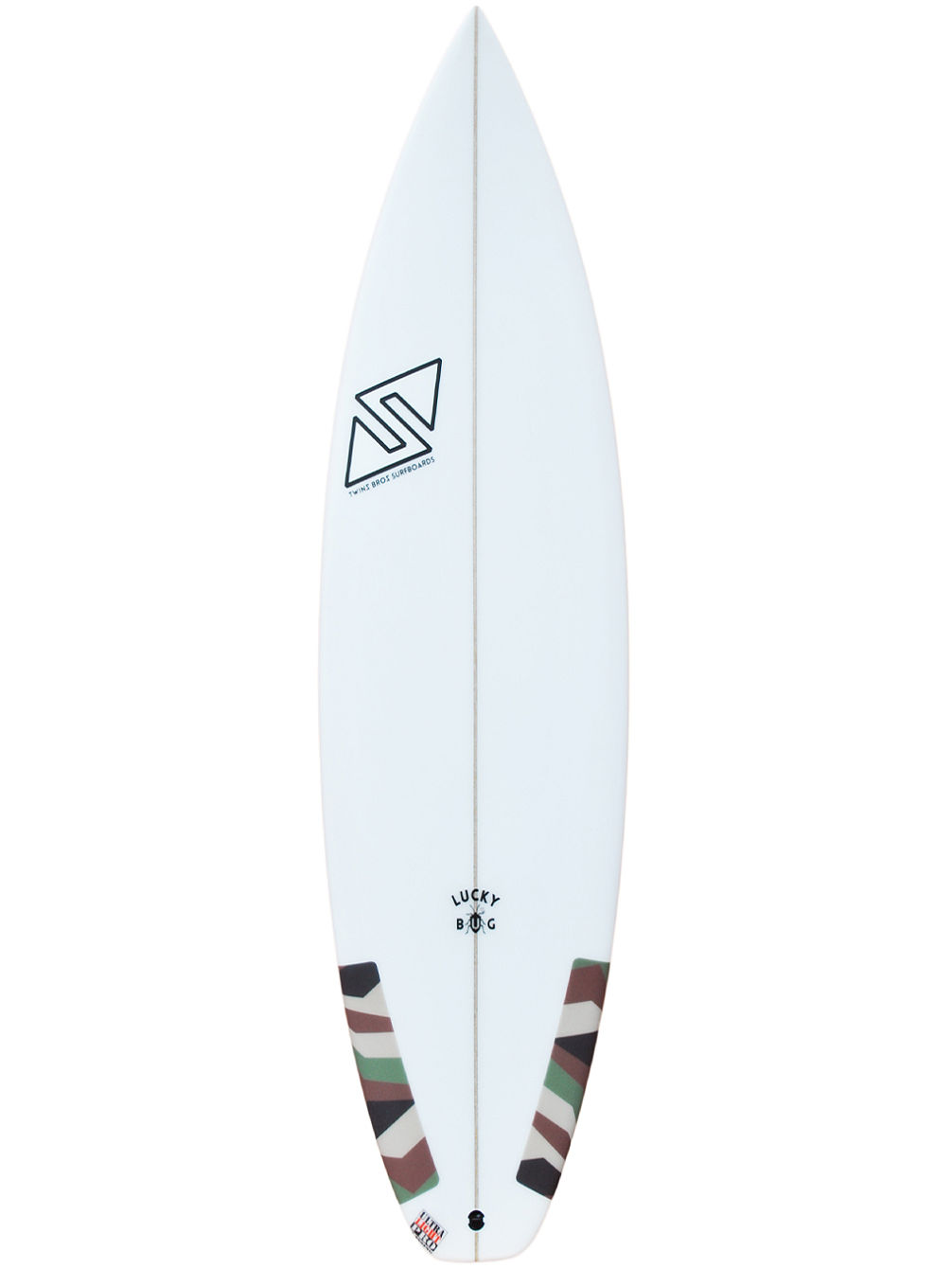 Lucky Bug Future 5'4 Surfboard