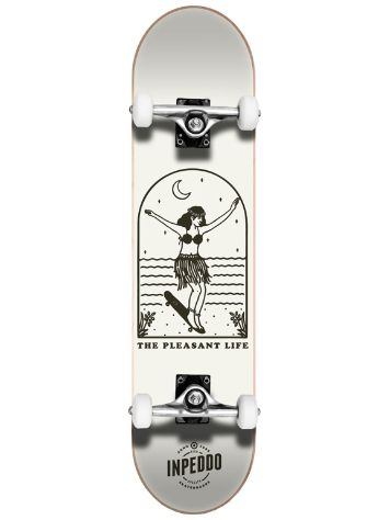 "Inpeddo Lady Grey 7.625"" Skateboard"