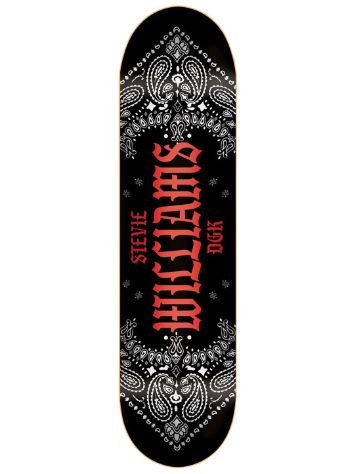 "DGK Colours Williams 7.8"" Skateboard deck"