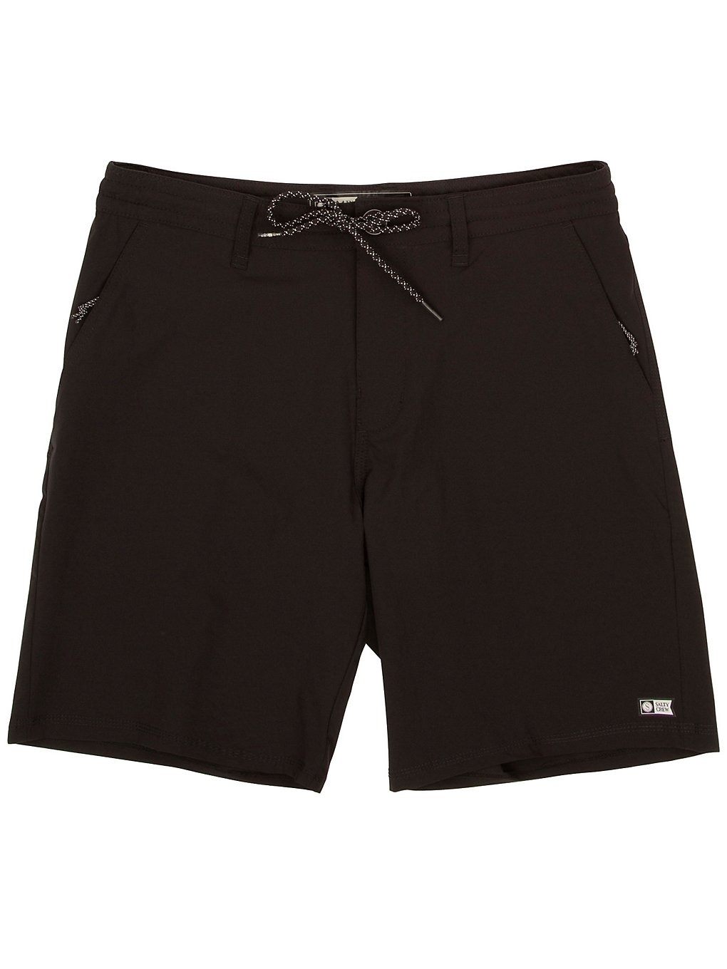 Salty Crew Breakline Hybrid Utility Shorts black