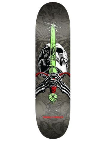 "Powell Peralta Skull & Sword Birch 7.5"" Skateboard Deck"