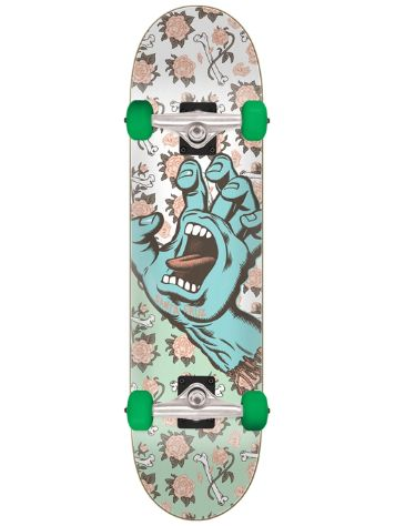 "Santa Cruz Floral Decay Hand Full 8.0"" Skateboard"