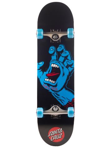 "Santa Cruz Screaming Hand Full 8.0"" Skateboard"