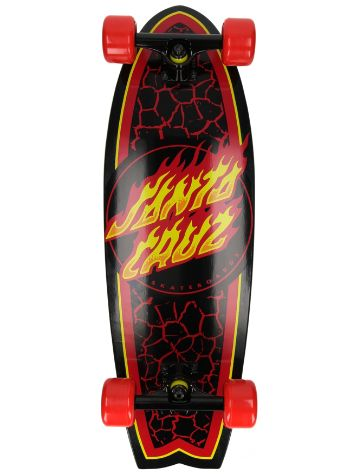 "Santa Cruz Flame Dot Shark 8.8"" Complete"