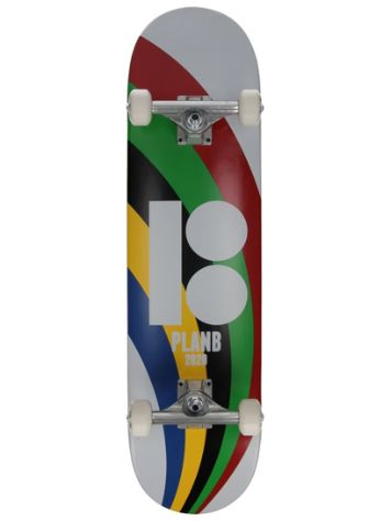 "Plan B Team OZ 8.0"" Skateboard complet"