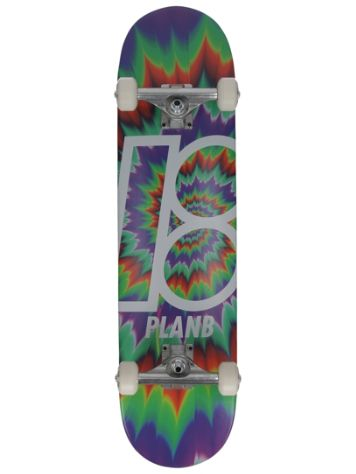 "Plan B Team Tune Out 7.75"" Skate Completo"