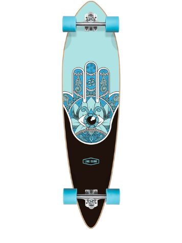 "Long Island Longboards Raise Essential 40"" Skate Completo"