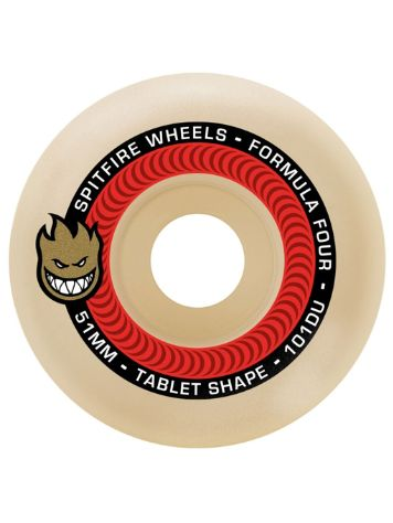 Spitfire Formula 4 101D Tablets 51mm Wheels