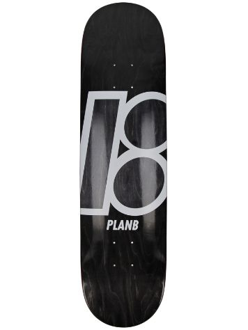 "Plan B Team Stain 8"" Skateboard deck"