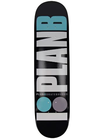 "Plan B Team OG Teal 7.75"" Tábua de Skate"