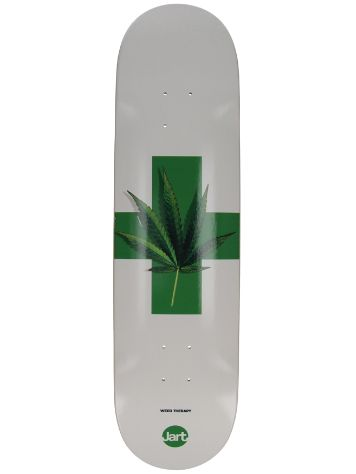 "Jart Weed Therapy 8.25"" HC Skateboard deck"