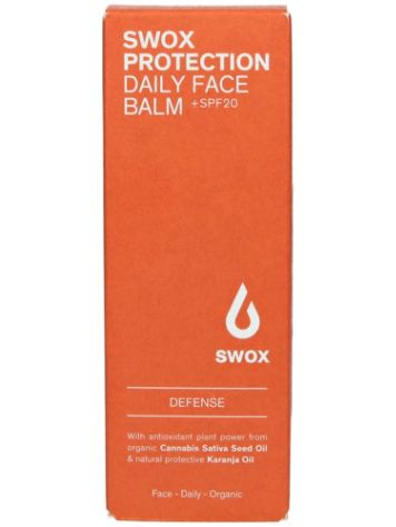 Swox Daily Face Balm Defense SPF 20 50ml Crème Solaire