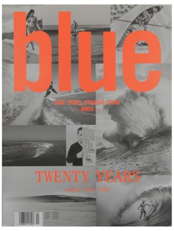 Blue Magazine Blue Yearbook 2020 Revija