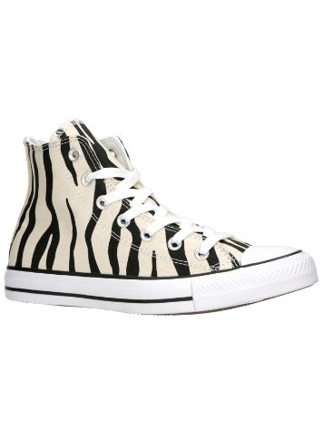 Converse Chuck Taylor All Star Canvas Zebra HI Sneakers