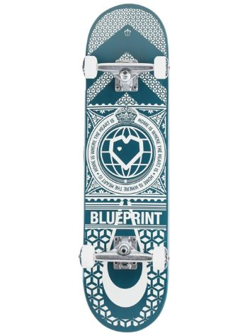 "Blueprint Home Heart 8"" Skateboard"
