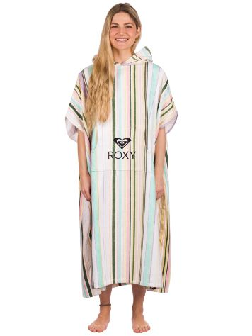 Roxy Stay Magical Printed Poncho de surf