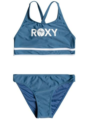 Roxy Perfect Surf S Time Crop Top Bikini Set
