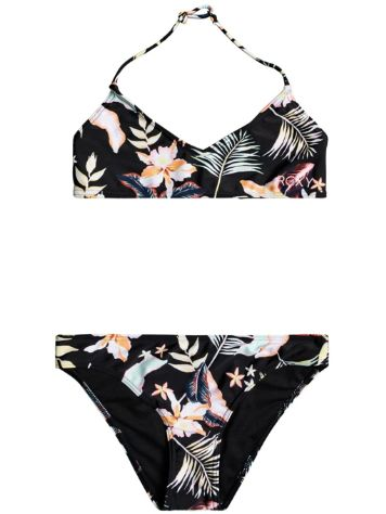 Roxy California Friends Tri Bra Bikini Set