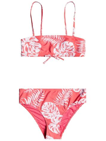 Roxy California Friends Bandeau Bikini Set