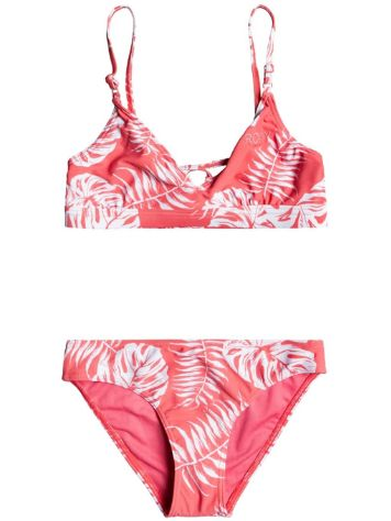 Roxy California Friends Athletic Tr Bikini Set