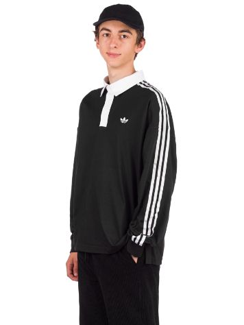adidas Skateboarding Solid Rugby Long Sleeve T-Shirt