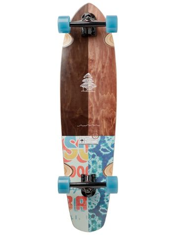 "Arbor Groundswell Mission 35"" Longboard Completo"