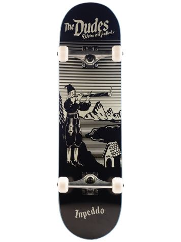 "Inpeddo X The Dudes Fucked 8.25"" Skateboard Deck"