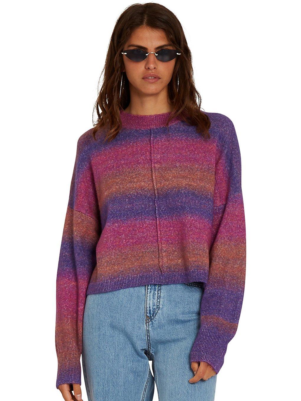 volcom neon signs sweater multi